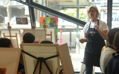 Be your own boss as a Paint Pinot Partner