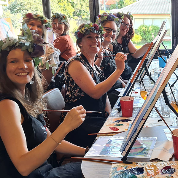 Paint Pinot, Have Fun, Sip Wine and Be Creative. Private Events.
