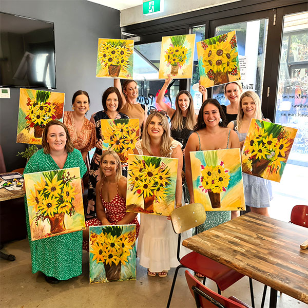 Paint Pinot, Have Fun, Sip Wine and Be Creative. Private Sessions.