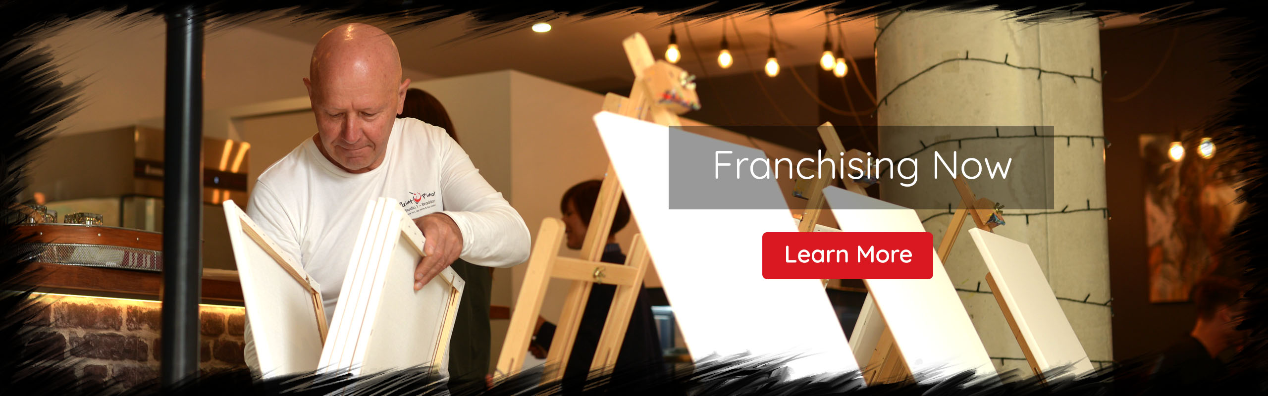 Paint Pinot, Franchising Now, Learn More