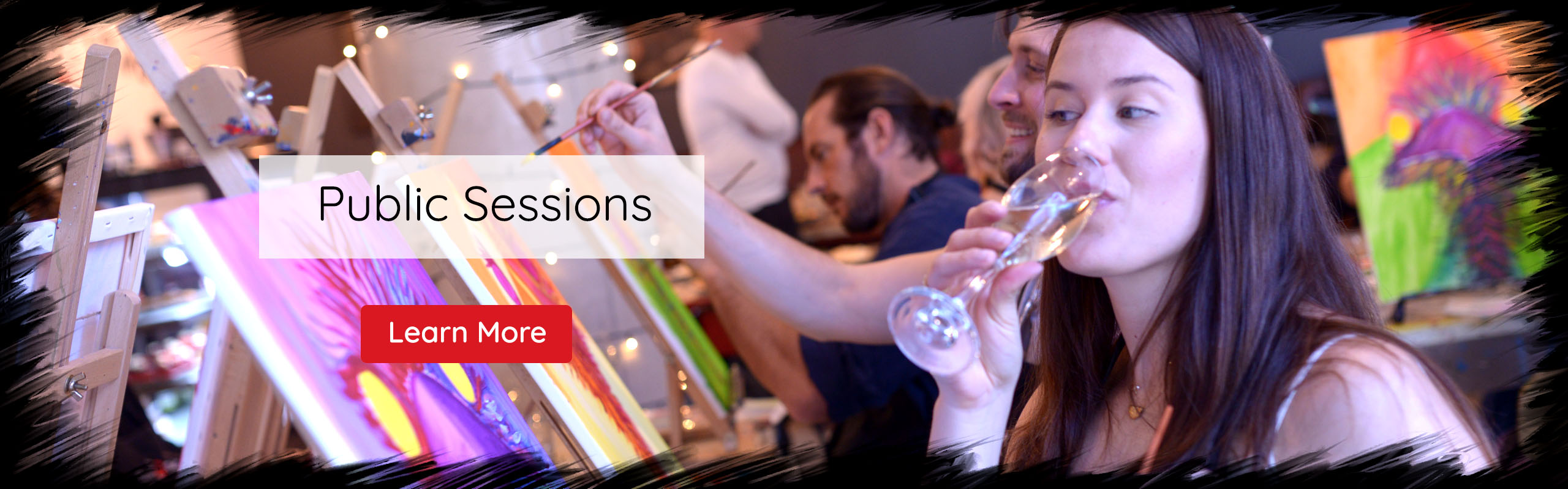 Paint Pinot, Have Fun, Sip Wine and Be Creative. Public Sessions, Learn More.