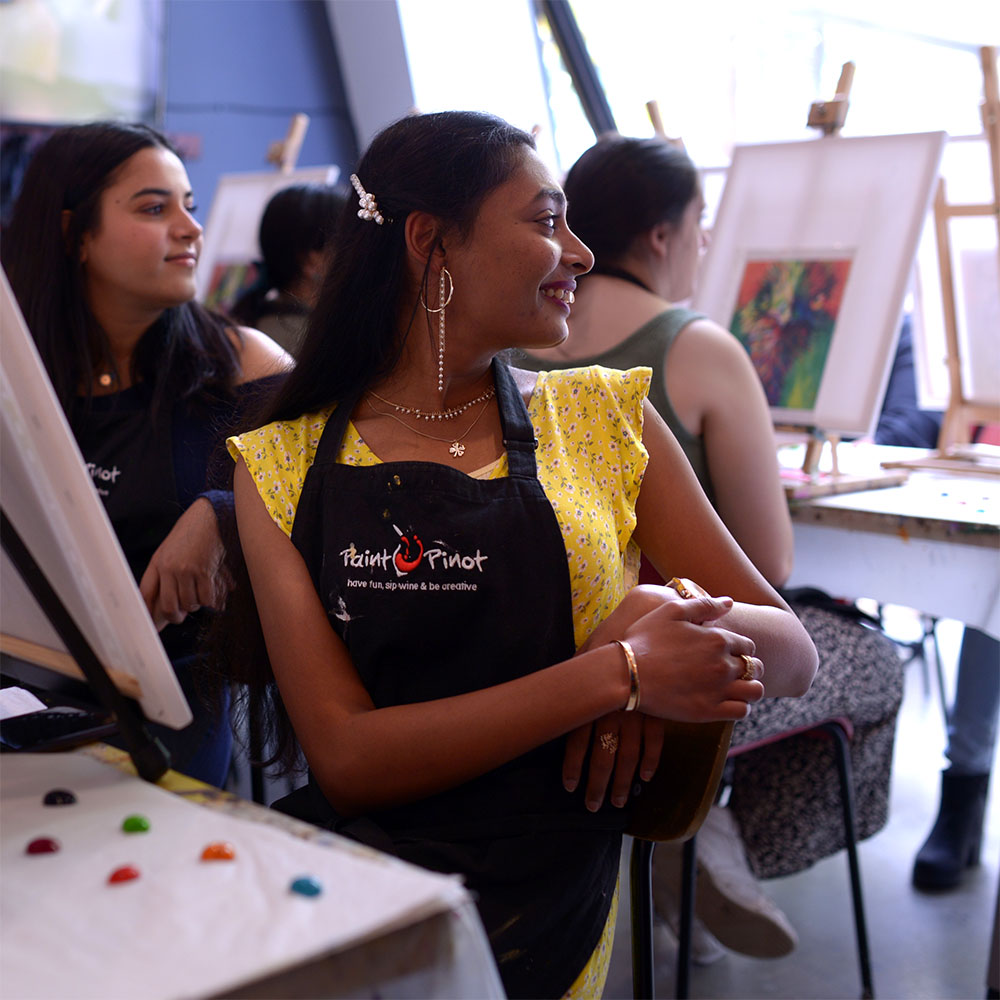 Paint Pinot, Have Fun, Sip Wine and Be Creative. Public Sessions, Braddon.